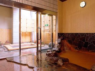 金泉と露天風呂